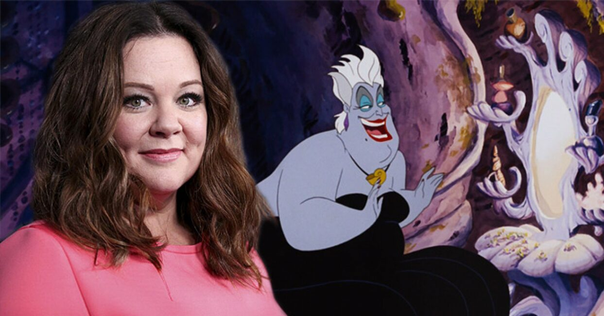 La Sirenita Melissa McCarthy disney live avtion